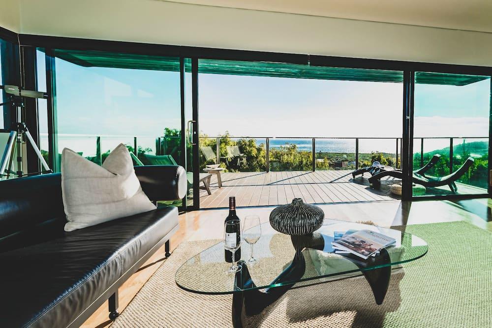 Luxury-talo, 3 makuuhuonetta, Merinäköala, Meren rannalla - Oleskelualue