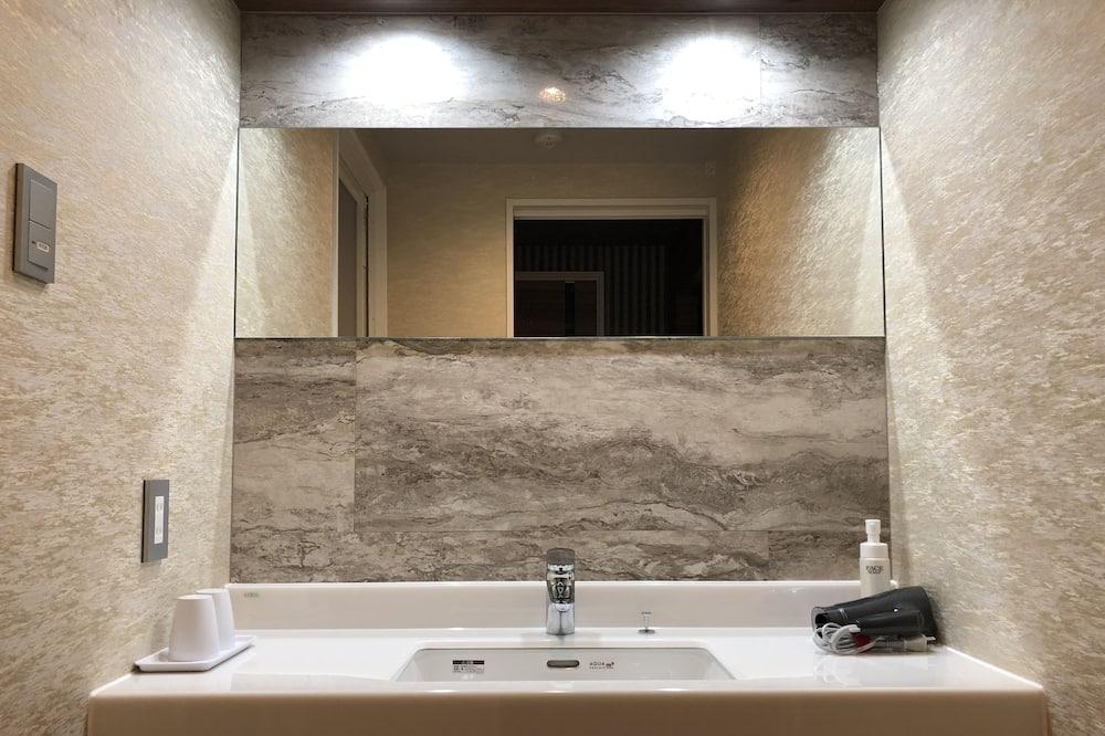 חדר יוקרתי (Suite) - חדר רחצה