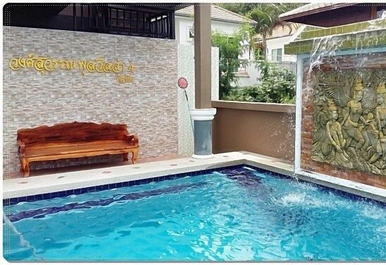 翁蘇灣泳池別墅酒店, Hua Hin, Wongsuwan Pool Villa 4 (5 bedrooms), 陽台