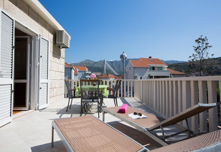 Aida Apartments and Rooms, Dubrovnik, Apartamento, 2 quartos, Terraço, Terraço/pátio