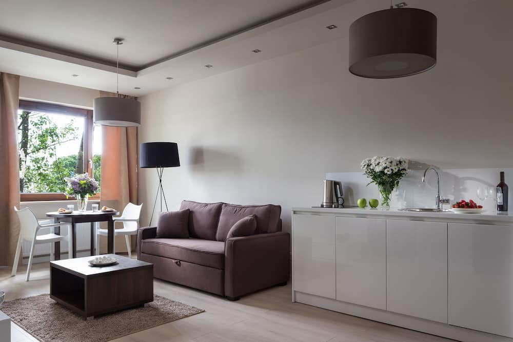 Departamento superior, 1 habitación - Sala de estar