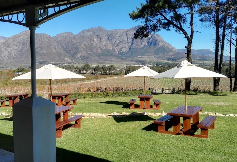 Topiary Vineyard Cottages, Franschhoek, Property Grounds