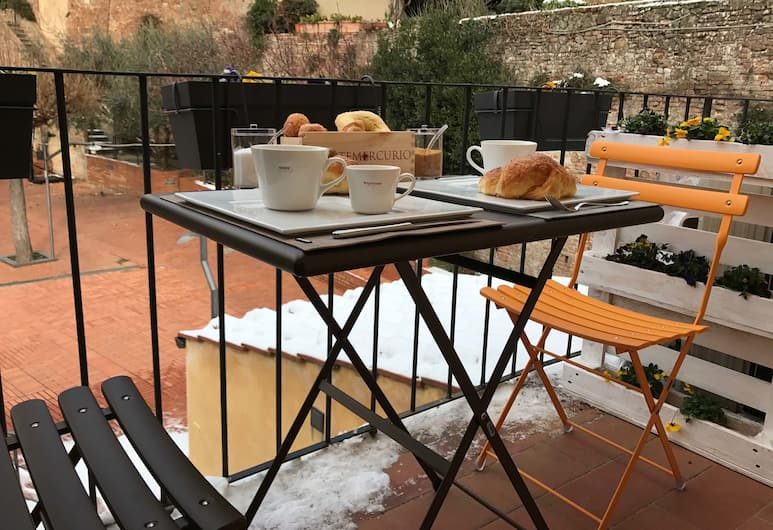 Fonte Gaia Experience B&B, Siena, Doppia Exclusive, balcone, Balcone