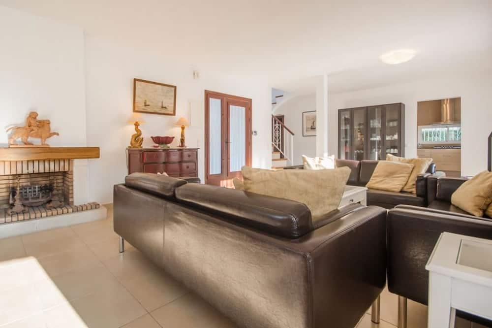 Villa, četras guļamistabas, privāts baseins - Dzīvojamā istaba