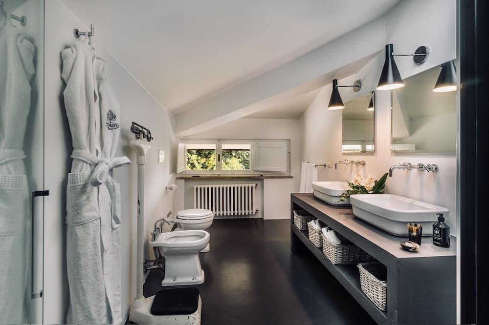 デラックス スイート 2 ベッドルーム 禁煙 - バスルーム