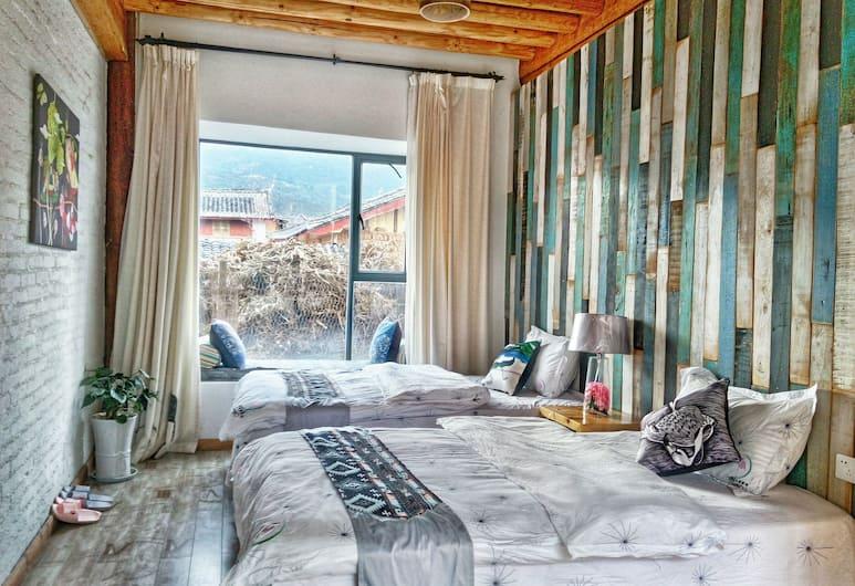 Baisha Flamingo Hotel, Lijiang, İki Ayrı Yataklı Oda, Bahçe Manzaralı, Oda