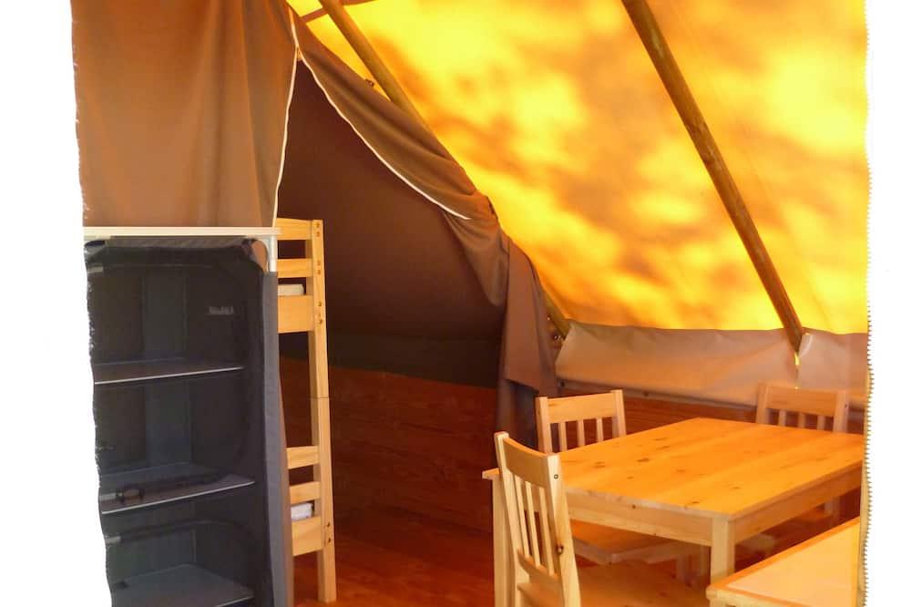 Telt - Bespisning på rommet