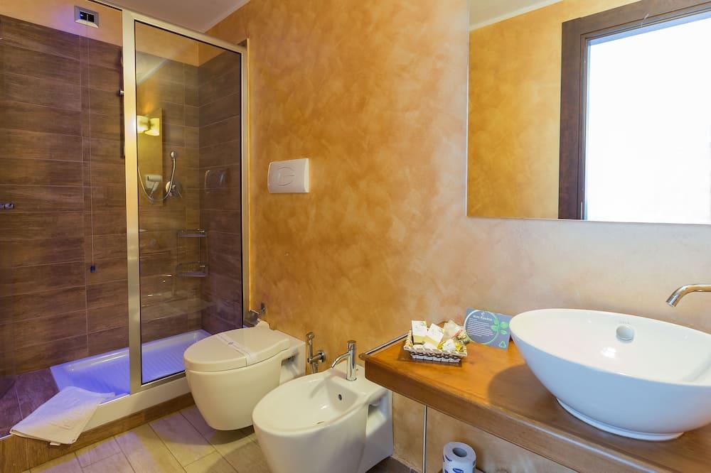 더블룸 또는 트윈룸, 발코니 - 욕실