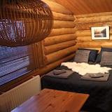 Economy-feriehus - 1 soveværelse - tekøkken - Opholdsområde