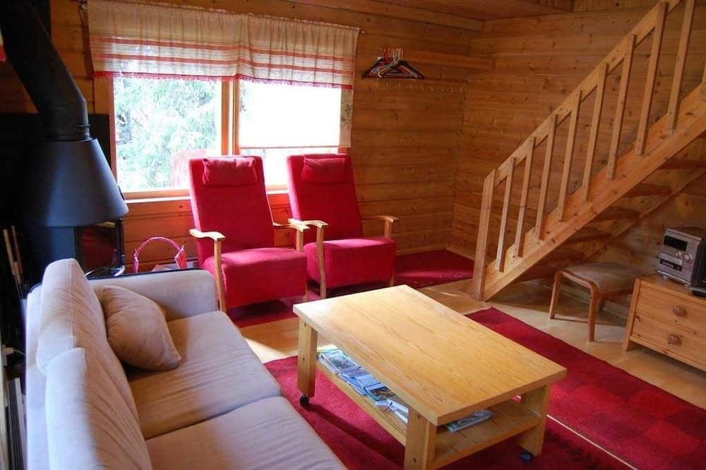 Chalet, 2Schlafzimmer, Sauna - Wohnbereich