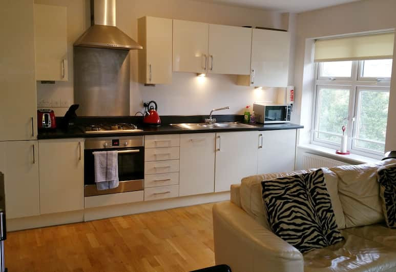 Oxford Serviced Apartments - Waterways, Oxford, Apartment, 1 Bedroom, Private kitchen