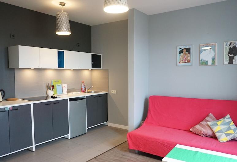 Apartament Puławska, Varšava, Apartmán typu Classic, Obývacie priestory