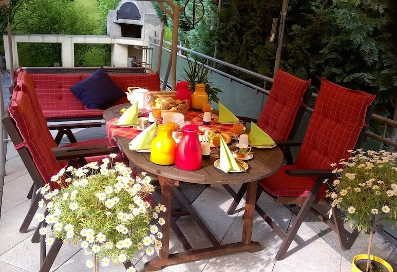 Pension Pauly, Boppard, Outdoor Dining