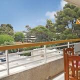 Lägenhet - 2 sovrum - balkong - utsikt mot staden - Balkong