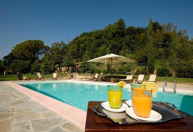 Villa Loghino, Volterra, Raňajky