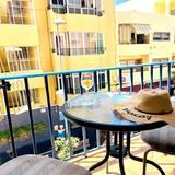 Departamento, 1 habitación, balcón - Vista al balcón