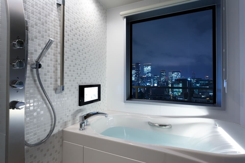 Premium-Zimmer, Nichtraucher - Badezimmer