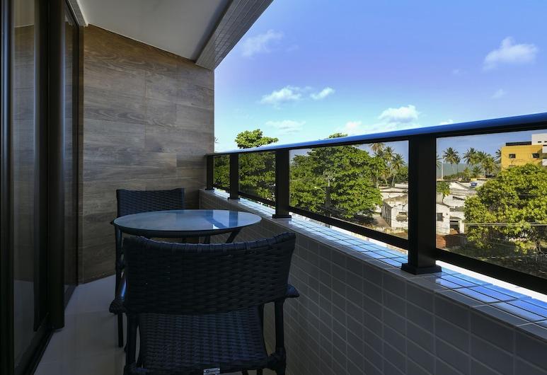 Littoral Gold Flat, Joao Pessoa, Suite (Gold), Balkoni