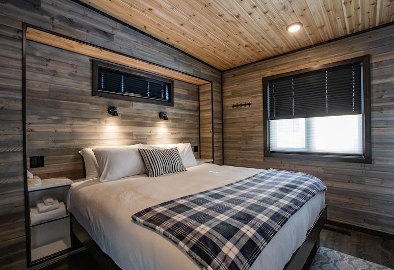 Boulder Mountain Resort, Revelstoke, Baita Premium, 1 camera da letto, cucina, vista montagna, Camera