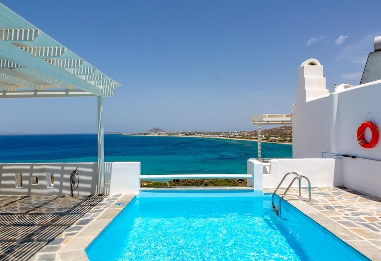 Apricot and Sea Luxury Villas, Naxos, Vonkajší bazén