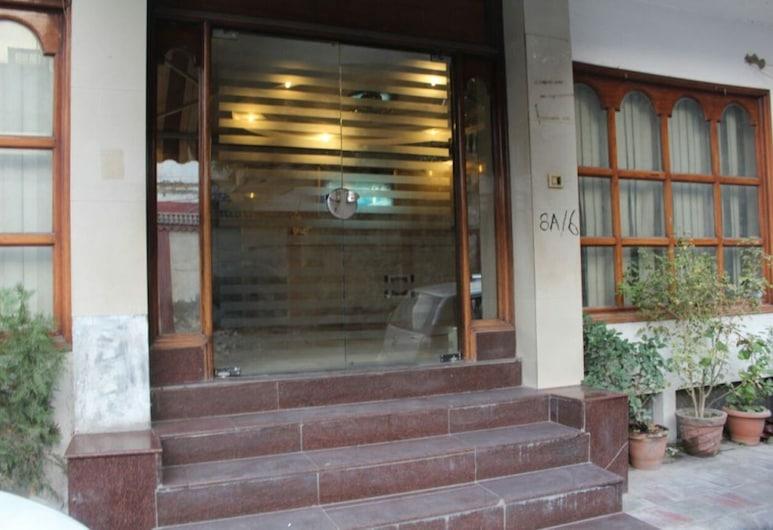 歐式辛格酒店, 新德里, 酒店入口