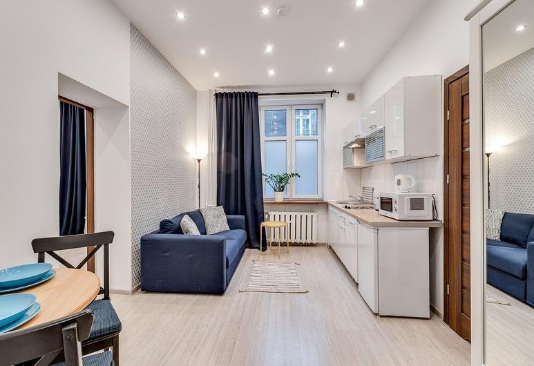 Kato Apartamenty Centrum, Katowice, Departamento Premium, 1 habitación, baño privado, Sala de estar