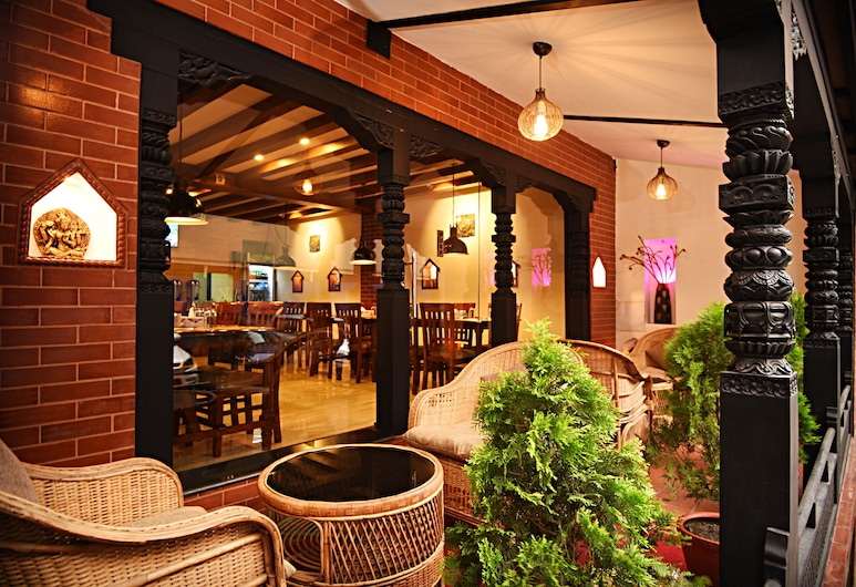 Kumari Boutique Hotel, Katmandu, Terasa / vidinis kiemas