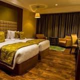 Quarto Duplo ou Twin Empresarial, 1 cama king-size - Sala de Estar