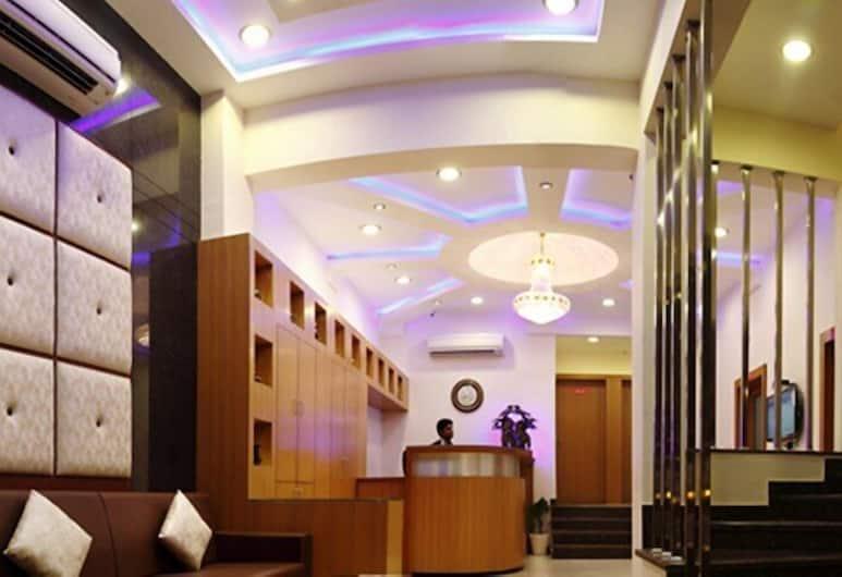 Hotel Durga Silver Line, Jodhpur, Sittområde i lobbyn