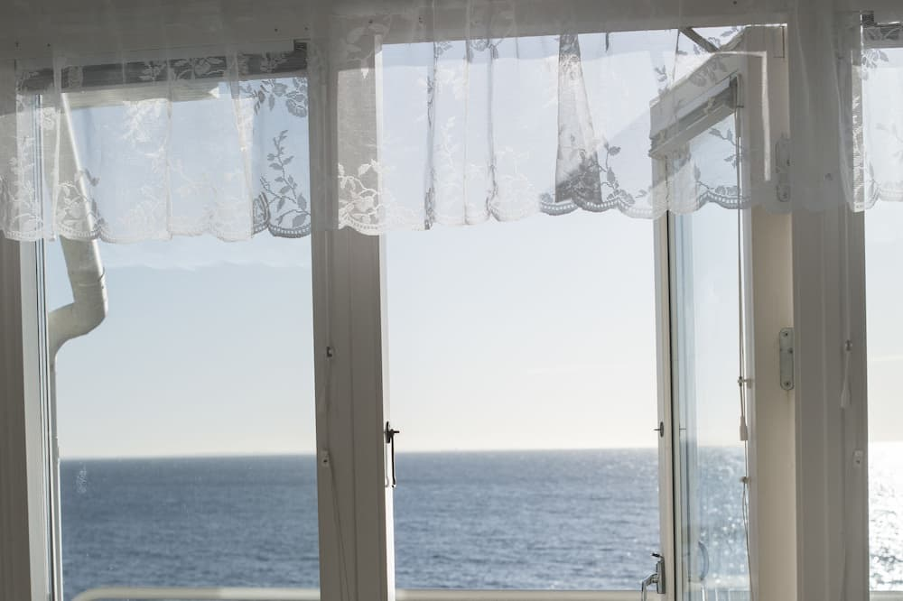 Doppelzimmer, eigenes Bad, Meerblick - Ausblick vom Zimmer