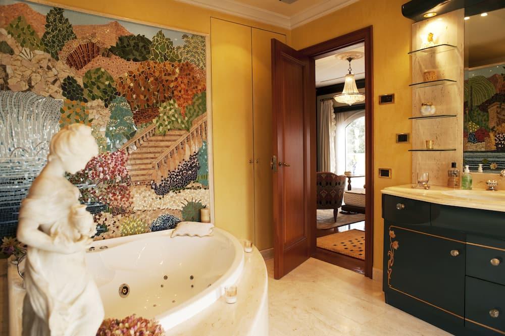 Premium-dobbeltværelse - Badeværelse