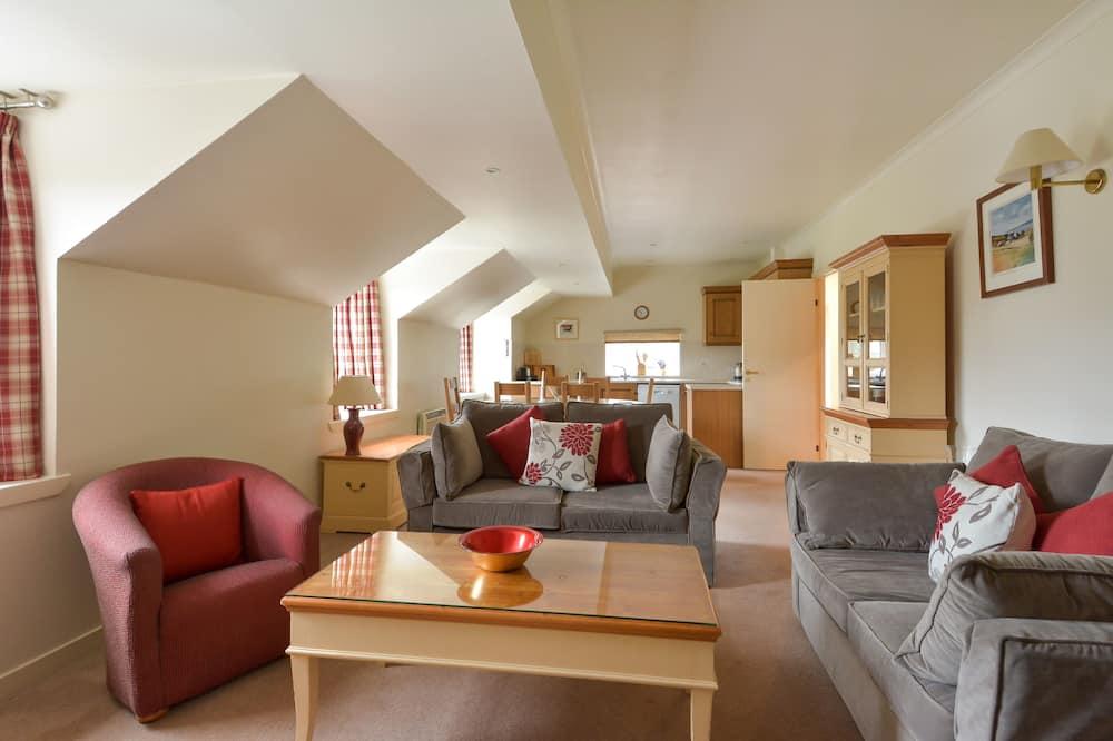 Rekreačná chata (Upper Cooperage) - Obývačka