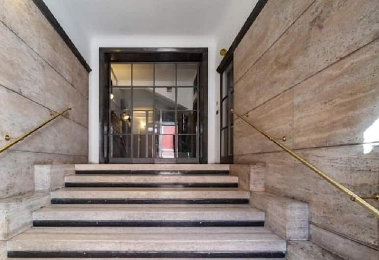 Holidays Apartment Colosseo, Rome, Ingang van de accommodatie