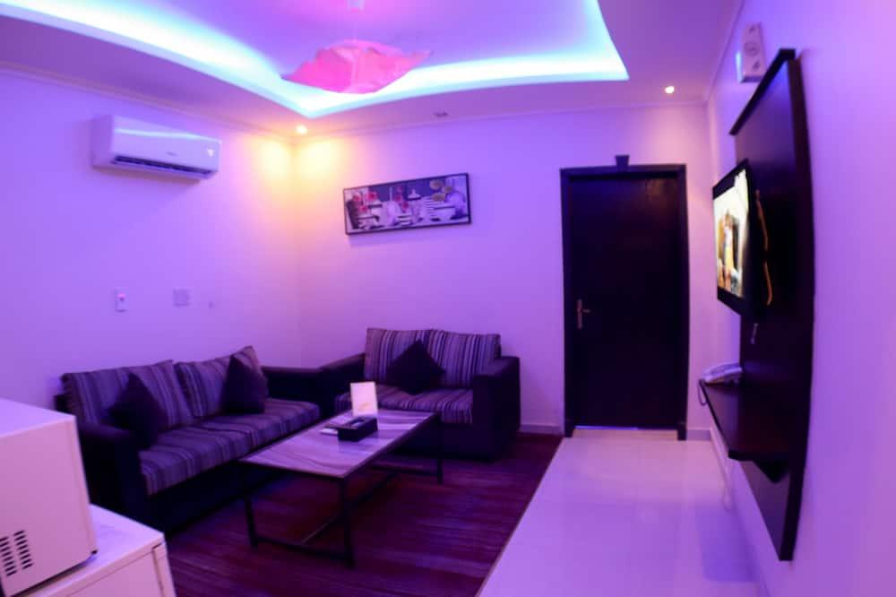Suite, 1 spavaća soba, masažna kada (VIP) - Dnevna soba