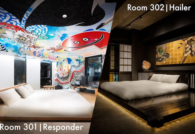 秋葉原 BnA 開放式公寓藝術飯店, 東京, 高級客房 (King), 客房