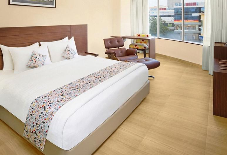 Ginger Vadodara RCR, Βαντοντάρα, Executive Δωμάτιο, 1 King Κρεβάτι, Θέα στην Πόλη, Δωμάτιο επισκεπτών