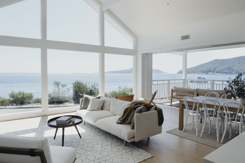 Panoramic-Apartment, 4Schlafzimmer, Meerblick - Zimmer