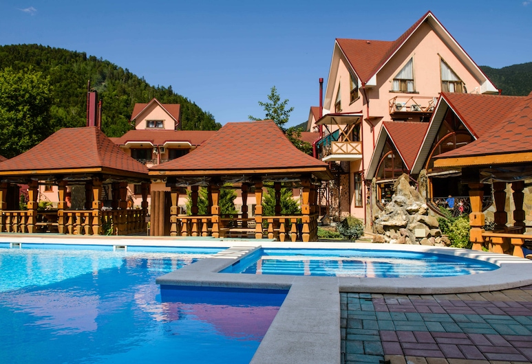Abago Mountain Hotel, Dahovskoe, Outdoor Pool
