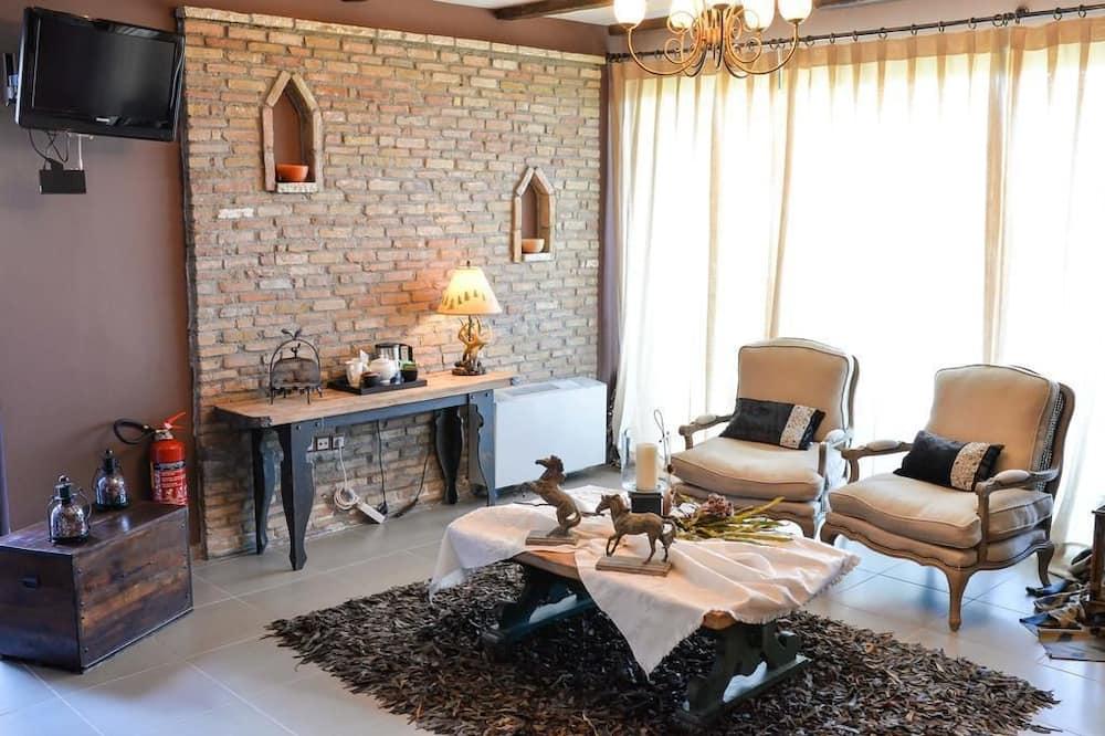 高级套房 - 起居室