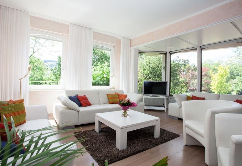 蘭豪斯維森曼酒店, Willingen (Upland), 公寓, 3 間臥室, 露台, 客廳
