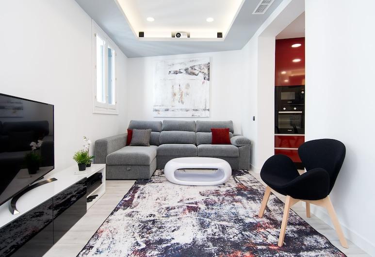 聖貝納迪諾公寓式酒店, 馬德里, 豪華公寓, 3 間臥室, 客廳