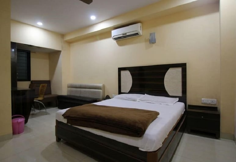Swagatham lodging, Navi Mumbai, Double Room Single Use, 1 Double Bed, Guest Room