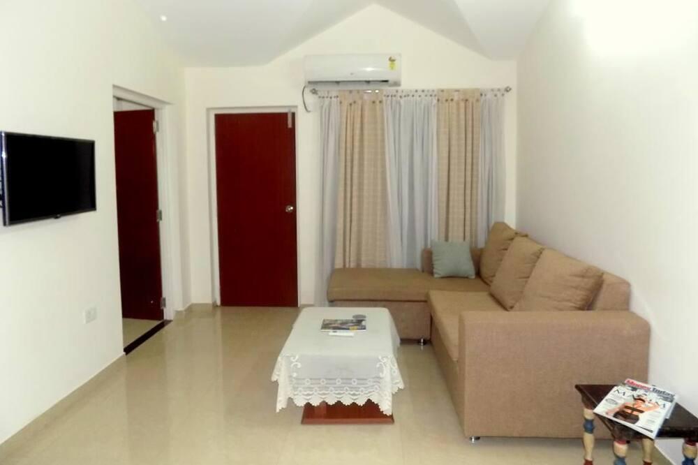 Comfort appartement, 2 slaapkamers - Woonkamer