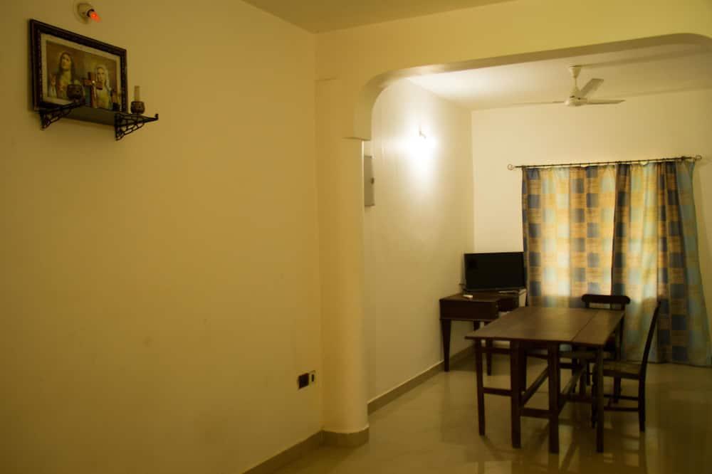 Exclusive-Apartment, 1 Schlafzimmer - Essbereich im Zimmer
