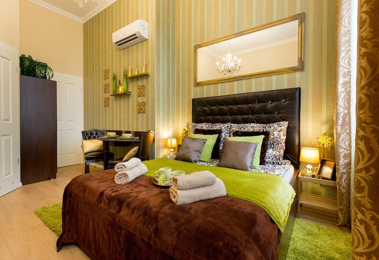 布達佩斯和諧渡假公寓, 布達佩斯, 經典開放式客房, 1 張加大雙人床, 客房