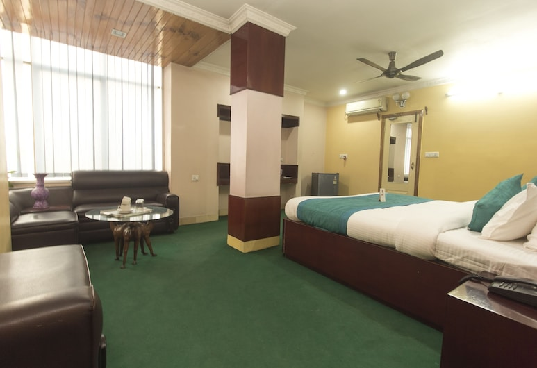 OYO 10908 Hotel North Point, Siliguri, חדר זוגי או טווין, חדר אורחים