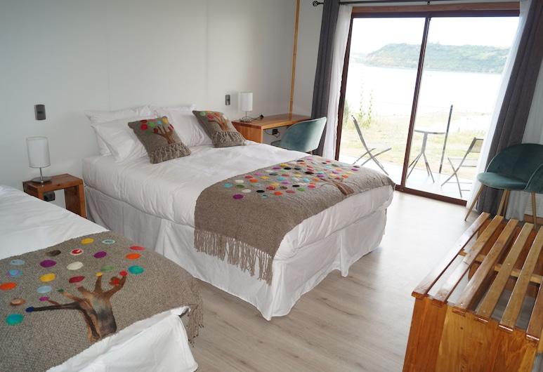 曼加塔飯店, 卡斯楚, 標準三人房, 客房