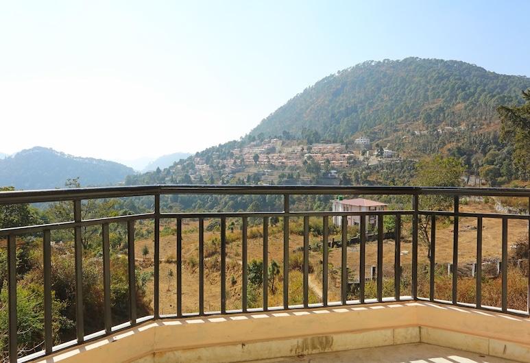 OYO 11726 Home Cozy 2BHK Valley View, Nainital, Balkon