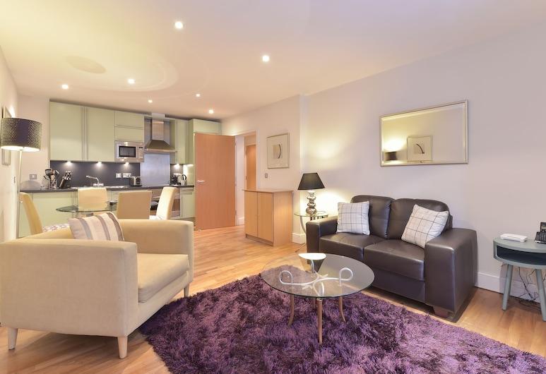 Still Life Tower Hill Executive, Londýn, Apartmán typu Executive, 1 ložnice, Obývací prostor