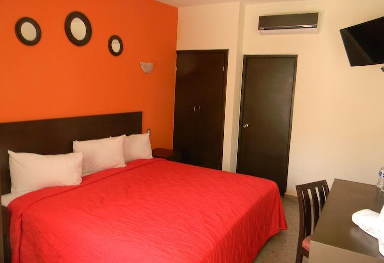 羅洛維酒店, 維拉克魯斯, 單人房, 客房